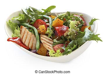 salad galinha