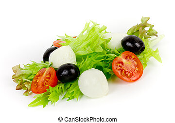salad isolated