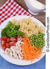 Salad of broccoli