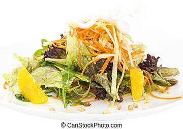 salad of fruit and vegetables