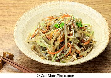 salad of the burdock