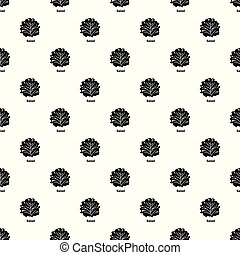 Salad pattern vector seamless
