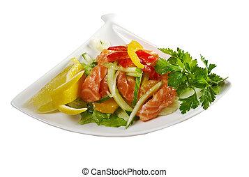 Salad - smoked salmon
