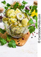 Salad with potatoes