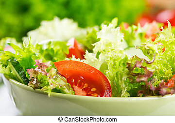 salad -  salad with vegetables and greens