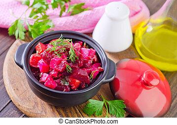 salada beterraba