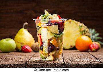 salada fruta, ir
