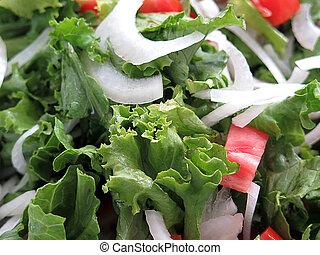 salada misturada