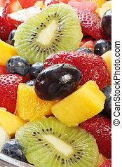 salade, fruit