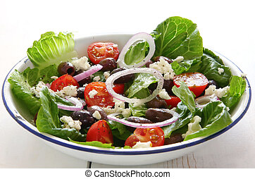 salade, grec