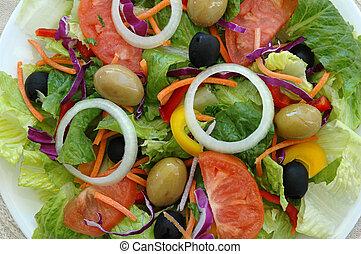 salade mélangée