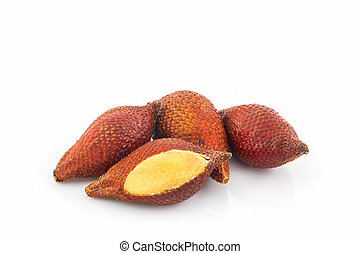 Salak Palm fruit. - Salak Palm fruit, tropical fruit in...