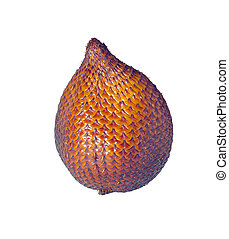 Salak (Salacca zalacca) - tropical, exotic fruit - Salak...