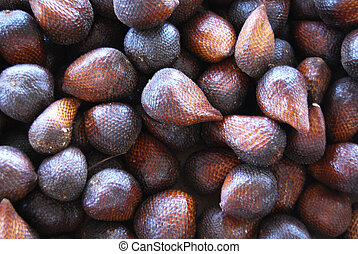 Salak - dark brown of Salak Background