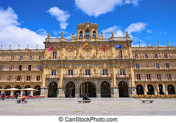 Salamanca Plaza Mayor 01