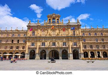 Salamanca Plaza Mayor 01
