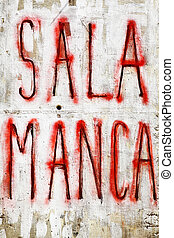 Salamanca - Urban graffiti