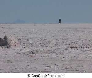 Salar de Uyuni in Potosi area in Bolivia