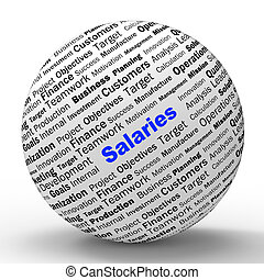 Salaries Sphere Definition Means Employer Earnings Or...