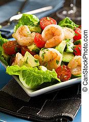 salat avocado, reje