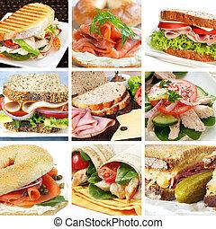 salat, collage