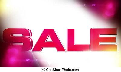 Sale 01 - SALE discount animation