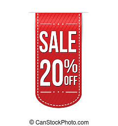 Sale 20% off banner design