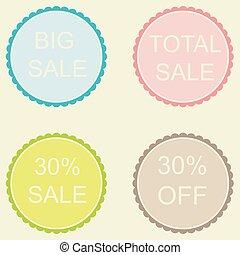 Sale 30% Off Label