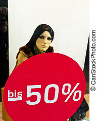 sale 50 percent