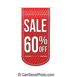 Sale 60% off banner design