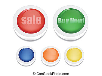 Sale and buy now button