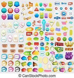 Sale and Promotion element jumbo collection - illustration...