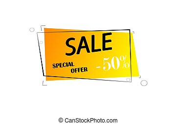 Sale and special offer -50%