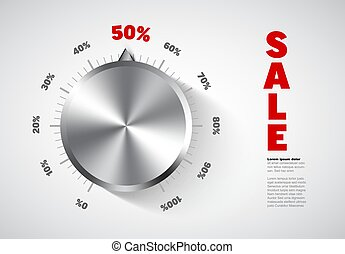 Sale banner flyer template