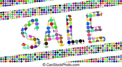 sale banner, special offer up off. Vector illustration.