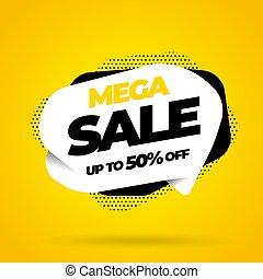 Sale banner template design