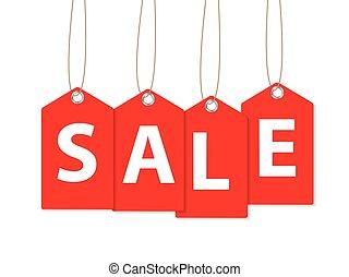 Sale Banner. Vector Illustration EPS10