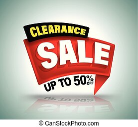 Sale banner vector illustration for promotion discount advertising element.