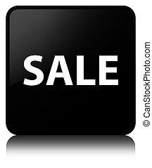 Sale black square button