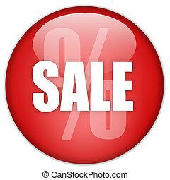 Sale button - Sale discount button