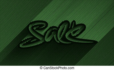 Sale Calligraphic Text poster vector illustration Design.