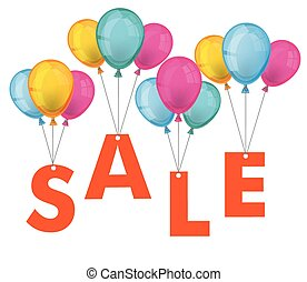 Sale Colored Balloons