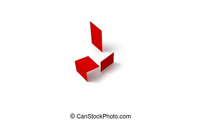 Sale Colored Cubes