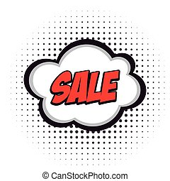 Sale comic expression
