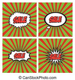 Sale comic expressions