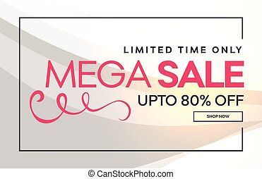 sale discount banner poster design background