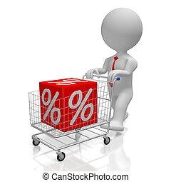 Sale/ discount concept