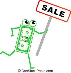 sale dollar