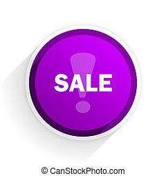 sale flat icon