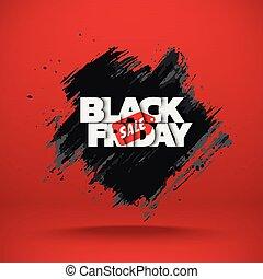 sale., fredag, svart